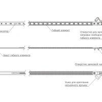 Изображение Номерное одноразовое устройство мешковая пломба АКУЛА-М4 345 мм