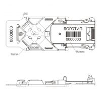Изображение Пломба для паллеты КРОСС: целостность упаковки и грузов