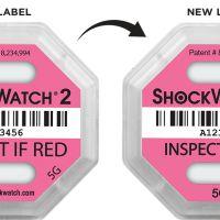 Изображение Индикатор удара ШОКВОТЧ ЛЭЙБЛ 2(ShockWatch 2) 5G,10G,15G,25G, 37G, 50G, 75G