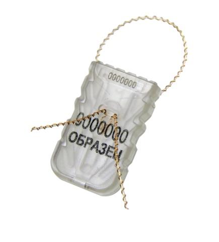 Изображение Номерная пломба-защелка СИЛТЭК-М (4 пары якорей)