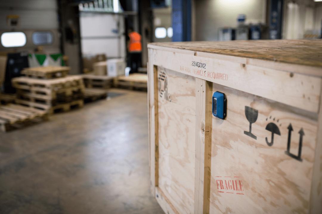 Изображение SPOTBOT BLE логгер воздействий в цепи поставок продукции