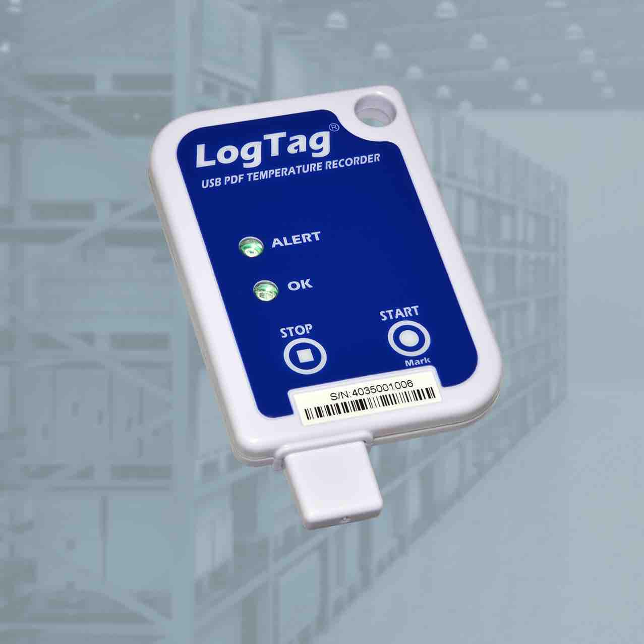 Изображение Термоиндикатор ЛогТэг ЮТРИКС-16 (LogTag USRIC-4), однократного запуска