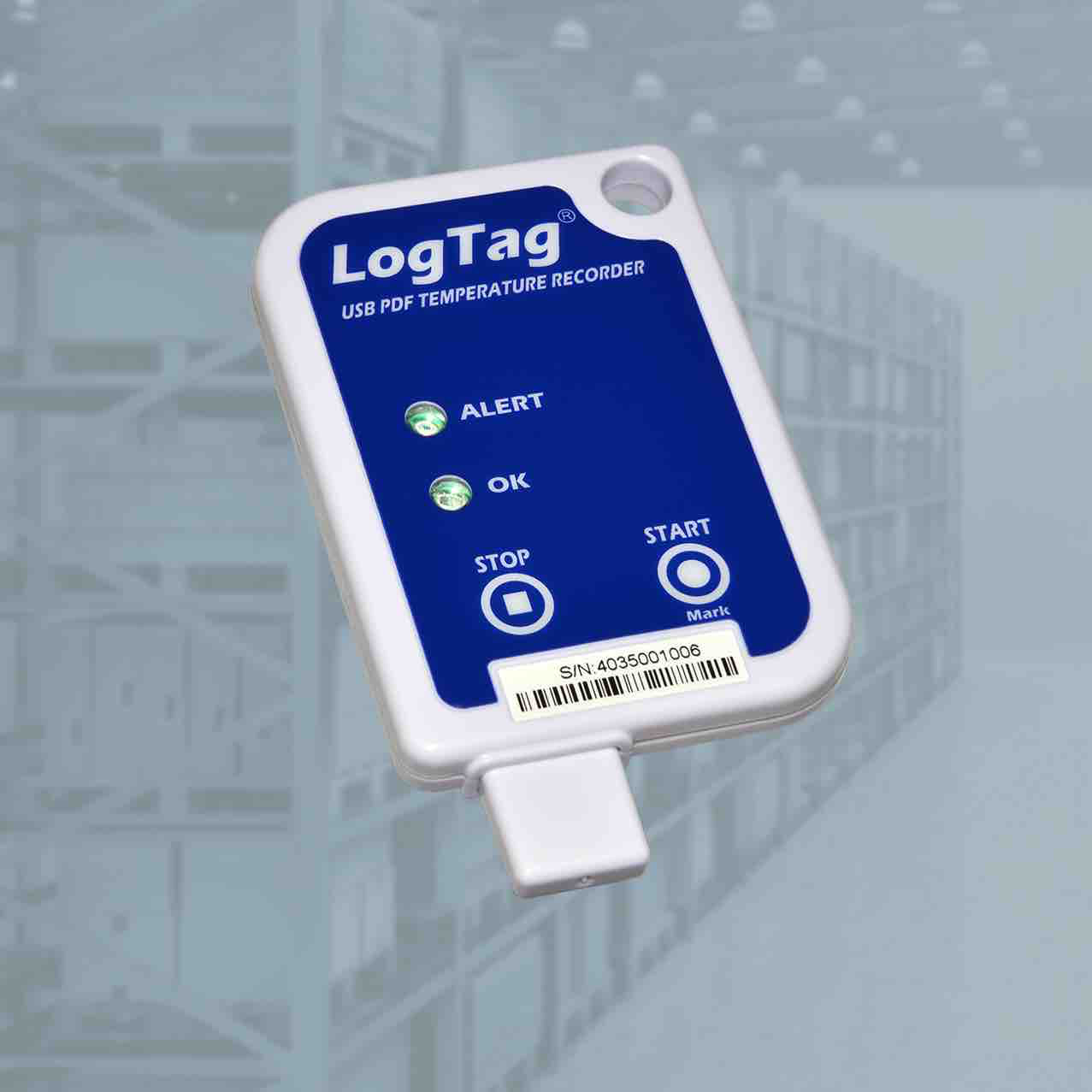 Термоиндикатор ЛогТэг ЮТРИКС-16 (LogTag USRIC-4) однократного запуска, с поверкой