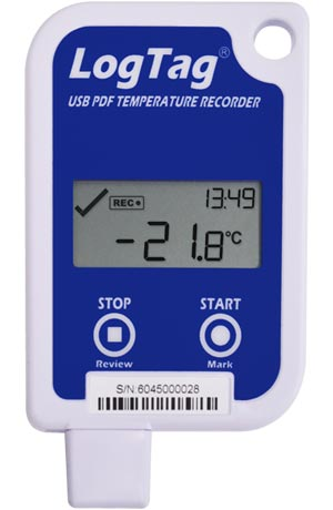 Изображение Термоиндикатор регистрирующий c с ЖК дисплеем ЛогТэг ЮТРИД-16 (LogTag UTRID-16), многократного запуска