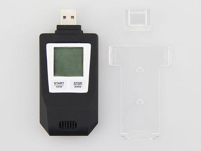 Изображение Логгер температуры и влажности Fresh Keeper 1 USB, PDF (многоразовый, термогигрометр)