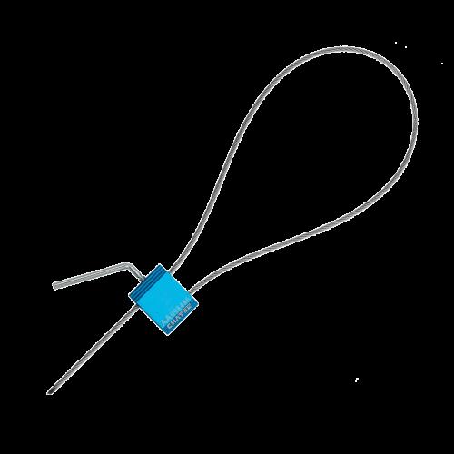 Изображение МАЛТИЛОК КЭЙБЛ СИЛ 2.5/ЗАКРУТКА 500мм тросовая пломба