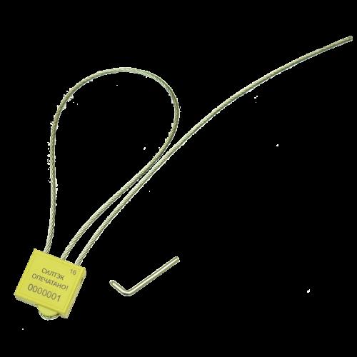 Изображение Номерная тросовая пломба КОРДОН – максимум защиты при минимальной цене!